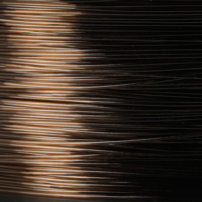 Vislijn karpervissen donkerbruin 1000 m