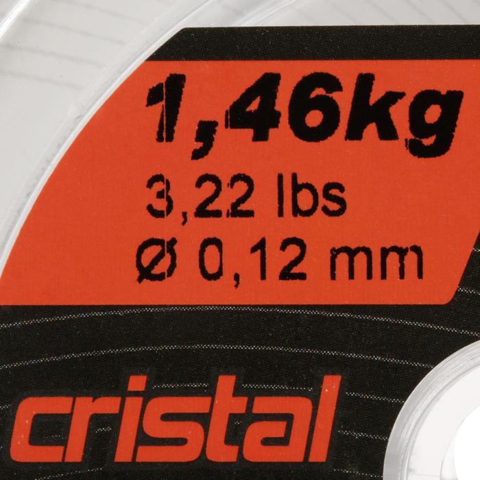 FIL DE PÊCHE LINE RESIST CRISTAL 100 M - 706007