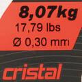 VLASCE NAD 300 M Rybolov - LINE RESIST CRISTAL 500 M CAPERLAN - Rybářské vybavení