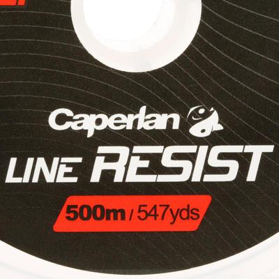 חוט דייג LINE RESIST CRISTAL באורך 500 מ' לדייג בים