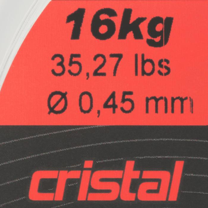 FIL PÊCHE EN MER LINE RESIST CRISTAL 500 M - 706076