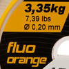 Line Resist fluo-oranje 150 m - 706103