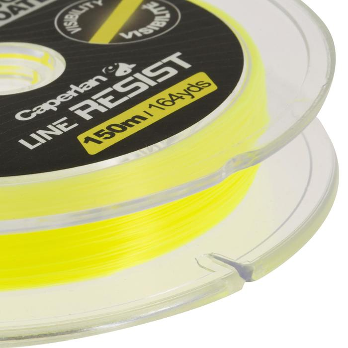 Angelschnur robust fluoreszierend 150 m transparent