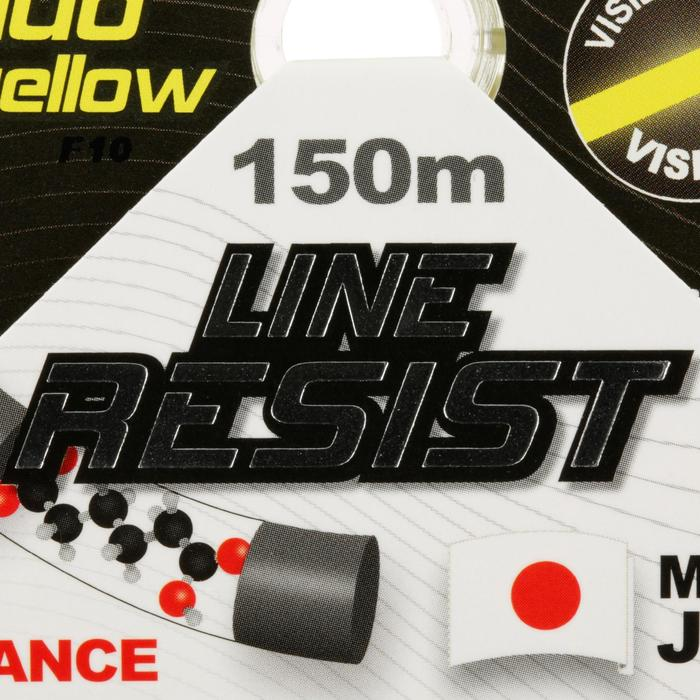 FIL DE PÊCHE LINE RESIST FLUO YELLOW 150M