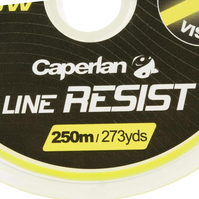 FIL DE PÊCHE LINE RESIST FLUO YELLOW 250 M - 706140
