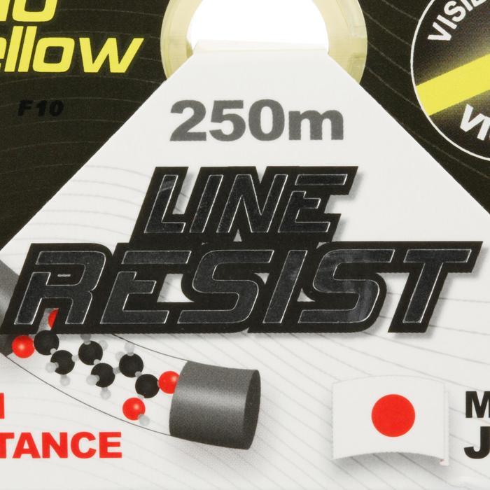 FIL DE PÊCHE LINE RESIST FLUO YELLOW 250 M - 706147