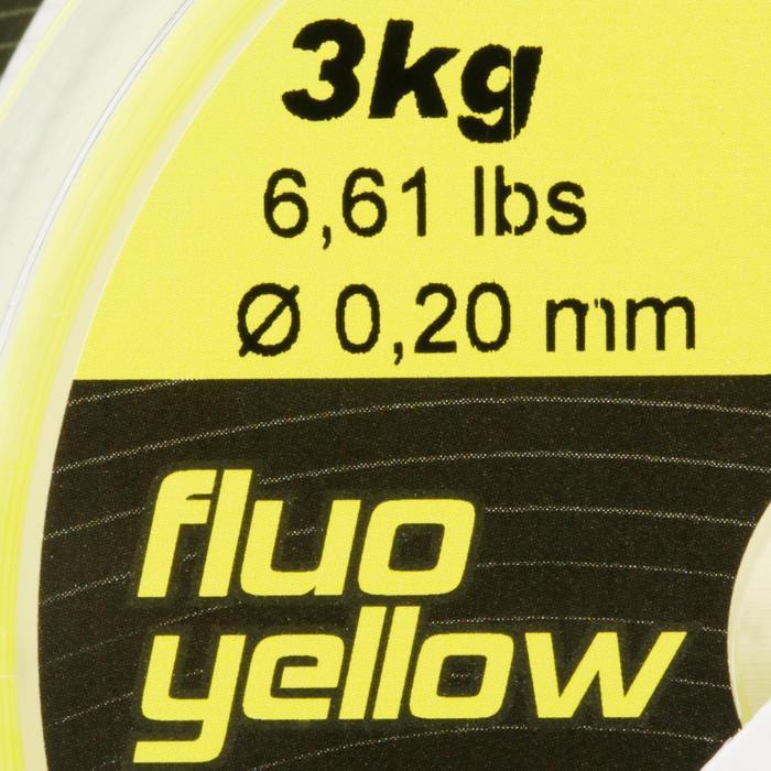 FIL DE PÊCHE LINE RESIST FLUO YELLOW 250 M