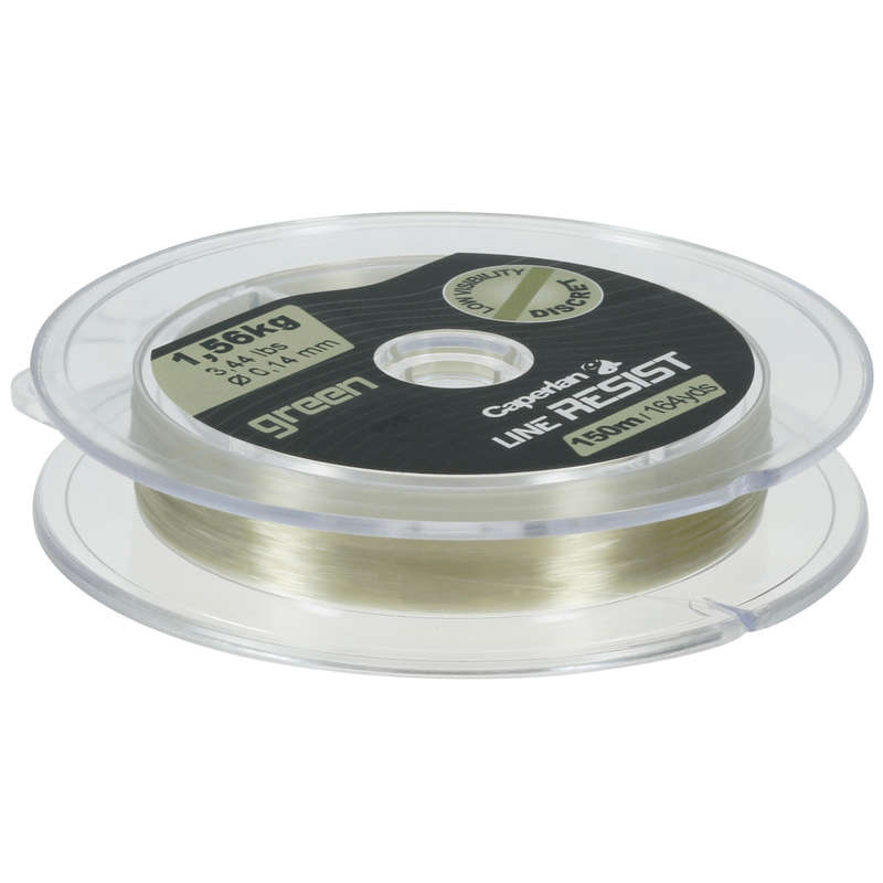 LINE UP TO 150M Fishing - LINE RESIST GREEN 150 M CAPERLAN - Fishing