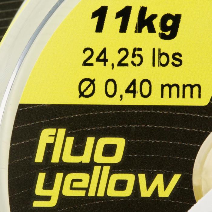 FIL DE PÊCHE LINE RESIST FLUO YELLOW 250 M - 706164