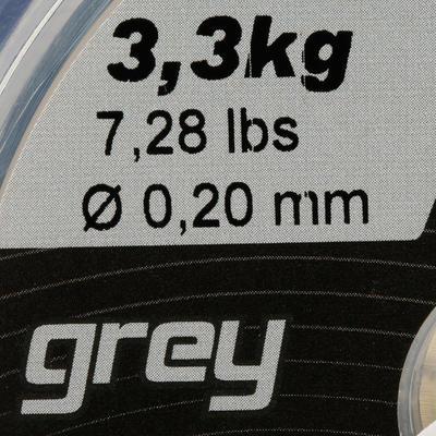 FIL DE PÊCHE LINE RESIST GREY 250 M NEW