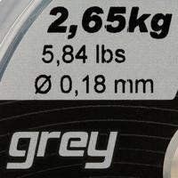 FIL DE PÊCHE LINE RESIST GRIS 250 M