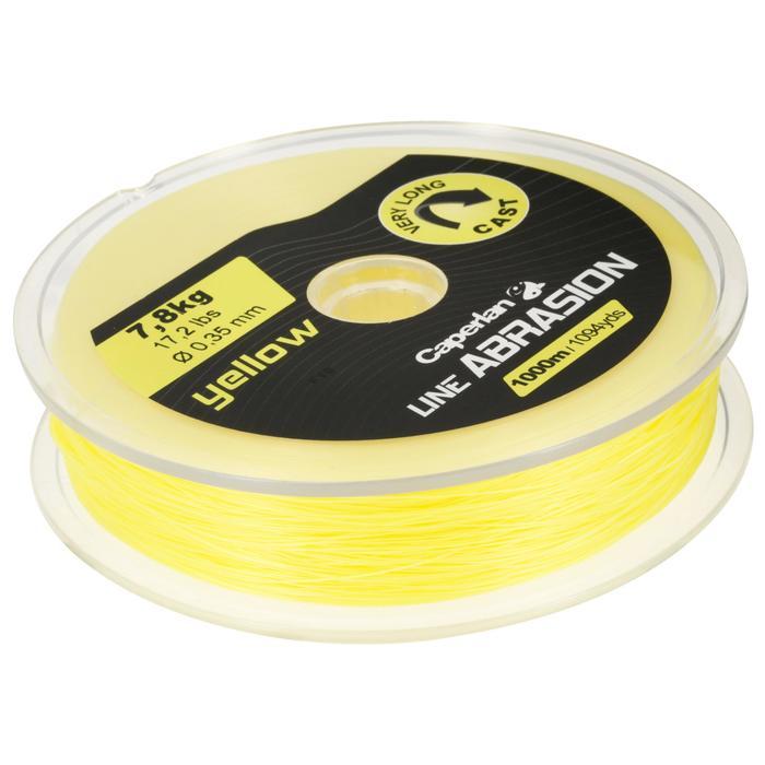 Fil de pêche line abrasion yellow 1000m