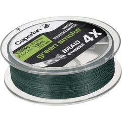 TRENZA BRAID 4X GREEN SMOKE 130 m