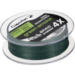TRENZA DE PESCA BRAID 4 X GREEN SMOKE 300 m