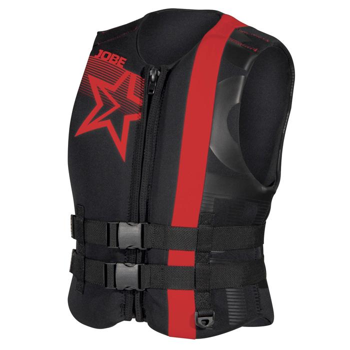 Gilet sports tractés homme JOBE Progress Neo Red (ISO) - 70660