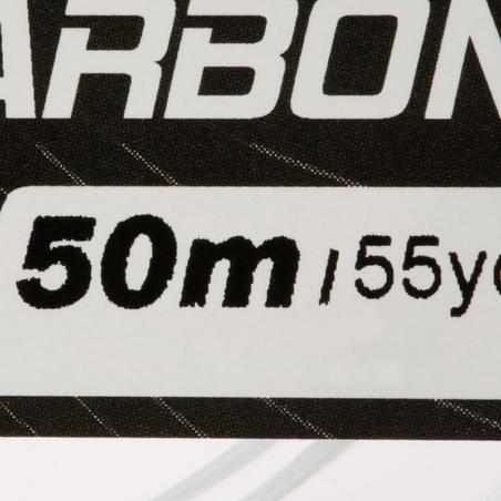 FIL DE PÊCHE FLUOROCARBONE 100% 50 M
