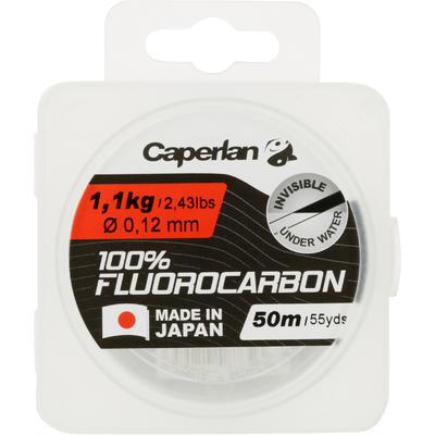 חוט דיג FLUOROCARBON 100% 50 M