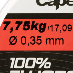 100% fluorocarbon vislijn 50 m - 707090