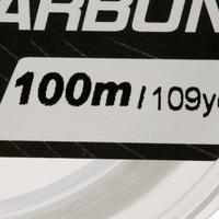 FIL DE PÊCHE FLUOROCARBON 100% 100 M