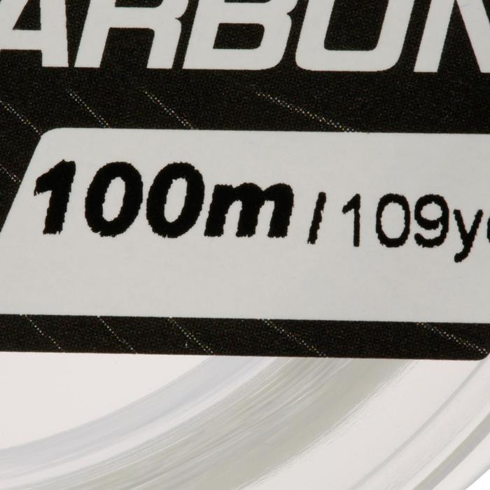 FIL DE PÊCHE FLUOROCARBON 100% 100 M - 707097