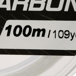 FIO DE PESCA 100% FLUOROCARBONO 100 M