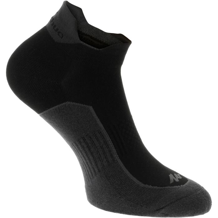 Chaussettes randonnée nature NH500 Low noir X 2 paires