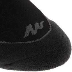 Chaussettes randonnée nature noir - NH500 Low - X 2 paires