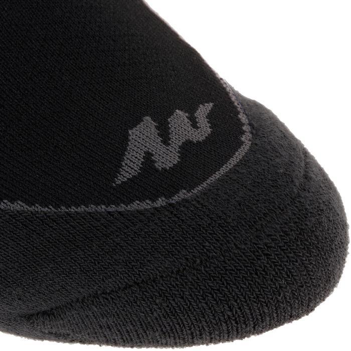 Sokken voor wandelen in de natuur NH500 low zwart 2 paar