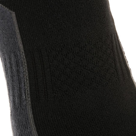 NH500 Country Walking Socks Low x 2 Pairs - Black