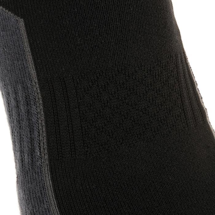 Sokken voor wandelen in de natuur - NH500 low - zwart 2 paar