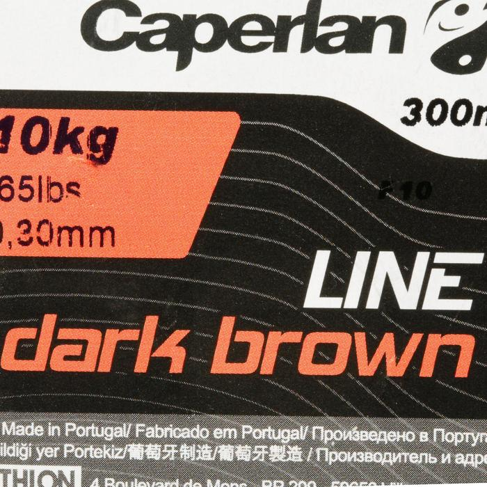 FIL DE PÊCHE LINE DARK BROWN 300 M - 707488