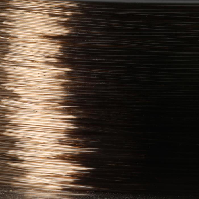 Lijn hengelsport donkerbruin 300 m