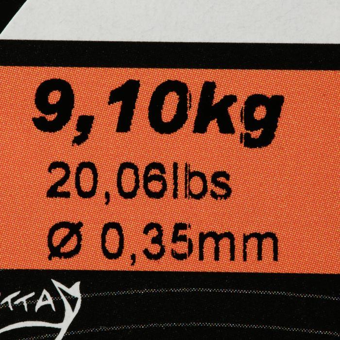 Hauptschnur monofil 300m Karpfenangeln dunkelbraun