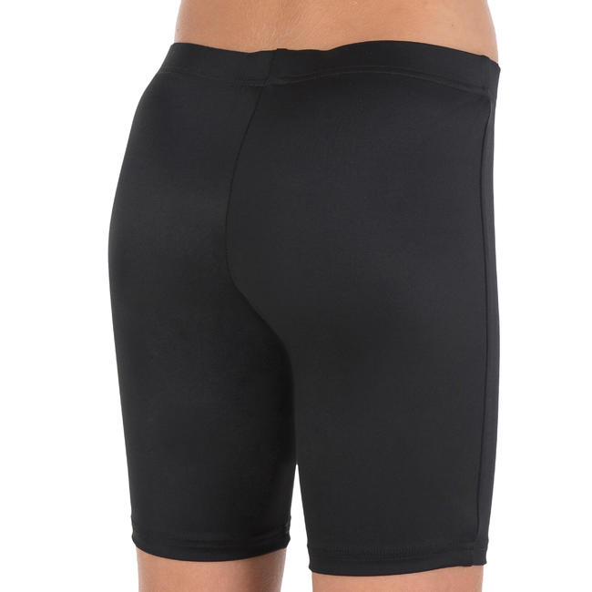 Girl swim shorts - Black