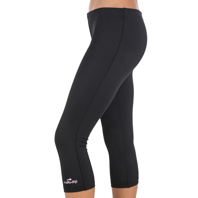 Girl'S Swimsuit Legging Bottoms - Pink