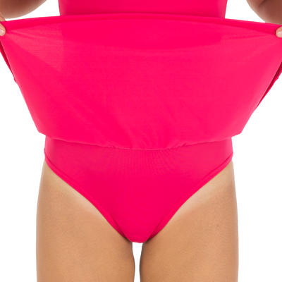 مايوه سباحة Leony قطعة واحدة للفتيات - وردي