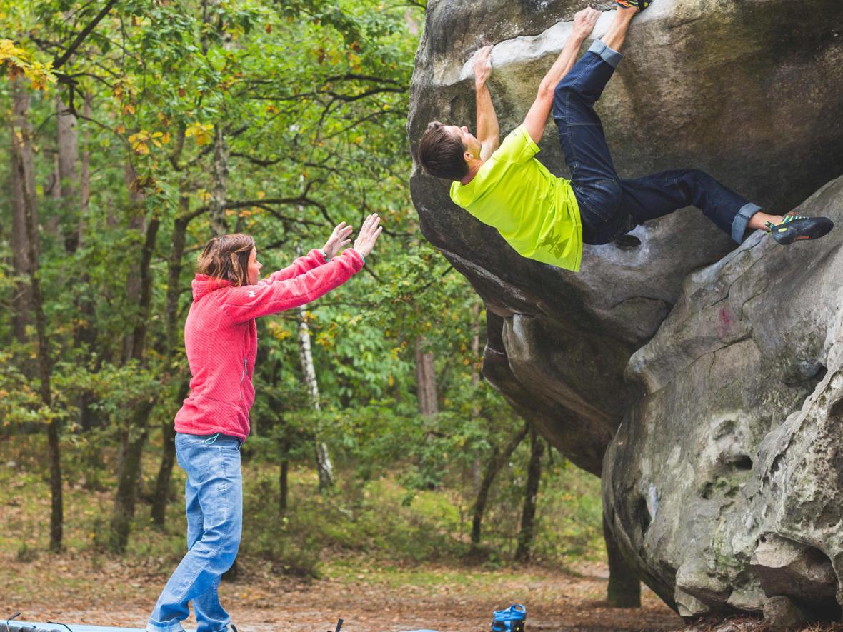 Why climber use chalk