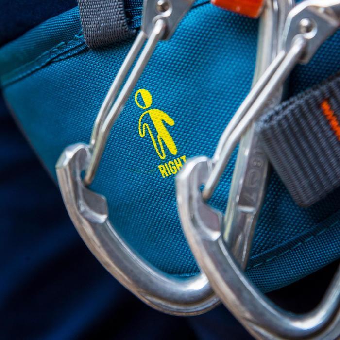 攀岩用安全吊帶EASY 3-藍色