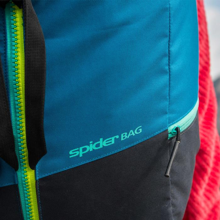 SAC D'ESCALADE SPIDER 30 LITRES BLEU PÉTROLE