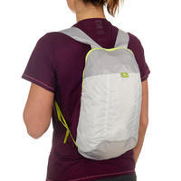 Ultra-Compact 10-Litre Travel Backpack - Grey