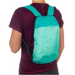 Ultra-Compact Travel 10-Litre Backpack - Light Green