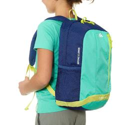 Kids' Hiking rucksack MH500 15 Litres green