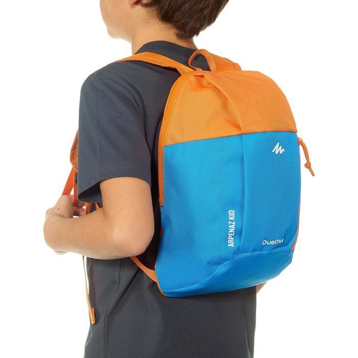 兒童款健行背包MH100 7 L-藍色/橘色