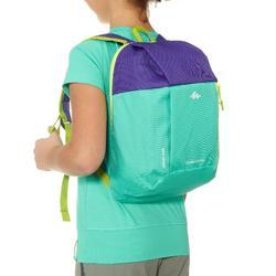 Kids' Backpack Arpenaz 7 Litre - Green Purple