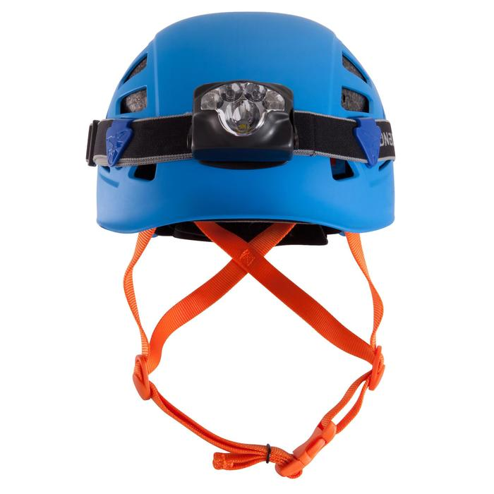 Climbing and Mountaineering Helmet - Rock Blue
