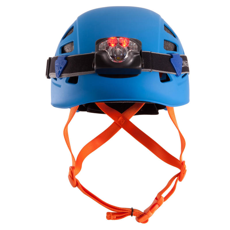 Climbing and Mountaineering Helmet - Rock Blue