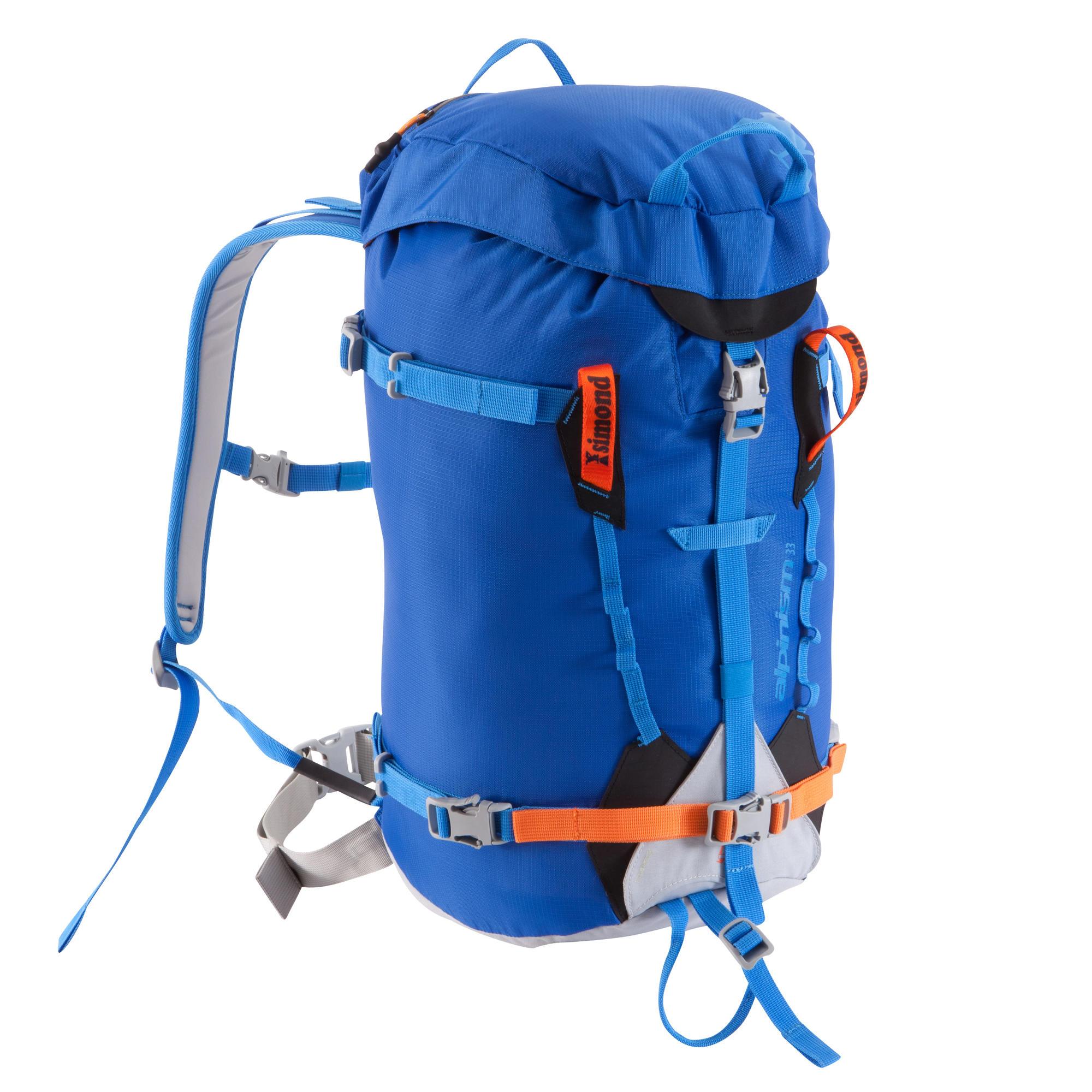 Sac A Dos Alpinism 22 Marine- Simond Adulte Bleu PzEhFux