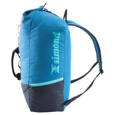 CLIMBING BAG KLIMB 30 LITRES - PETROL BLUE