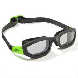 EASYDOW游泳護目鏡尺寸L - 黑色綠色
