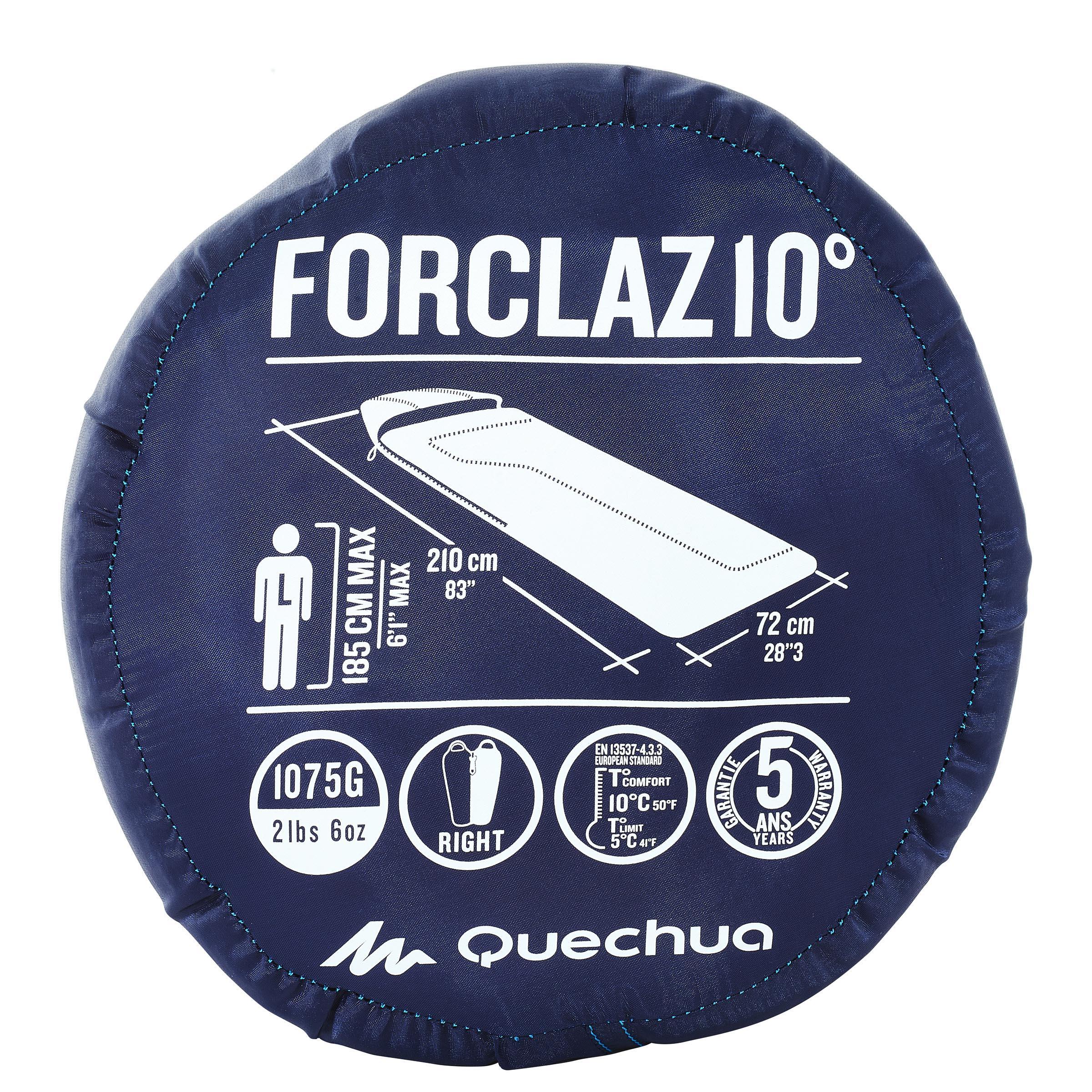 Forclaz 10° Camping Sleeping Bag